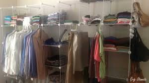 How To Organize A Small Bedroom by Store Clothes Without Closet Smart Ideas Youtube