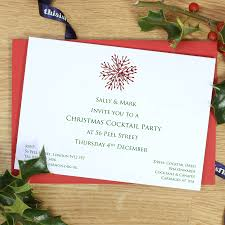personalised christmas invitations by this is nessie