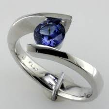 benitoite engagement ring the mardon way gems mardon jewelers custom jewelry