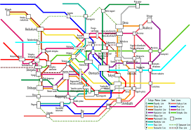 Osaka Subway Map by The All New All Encompassing Japan Thread Now With Guidelines On