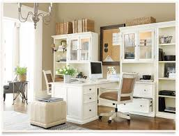 Neutral Home Office With Partners Desk Office Pinterest - Home office desks ideas