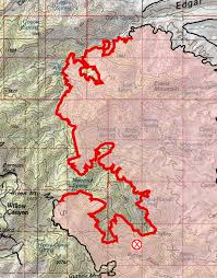 Wildfire Map Northwest 2017 by Burro Fire Hike Lemmon