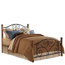 wrought iron u0026 wood beds wrought iron furniture iron accents