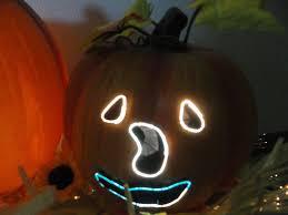 18 1 2 fiber optic trio pumpkin horizontal stack halloween by