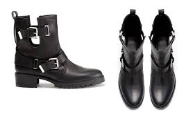 womens boots zara zara cowboy shoes cow leather ankle boots with straps heels black