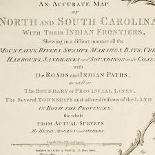 Map Of North And South Carolina An Accurate Map Of North U0026 South Carolina Mouzon Battlemaps Us
