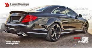 mitsubishi fto wide body mercedes benz cl w216 wide body kit lenzdesign performance