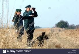dpa two german customs officers and their observe the stock