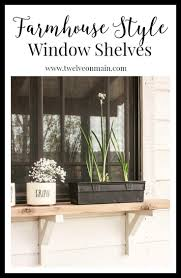 Kitchen Window Shelf Ideas 25 Best Window Shelves Ideas On Pinterest Kitchen Window