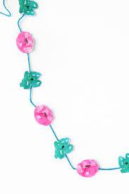 gifting diy mini watercolor flower garlandmaritza lisa