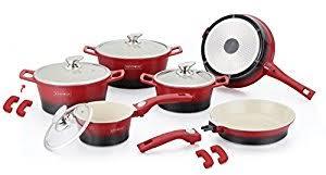 batterie de cuisine ceramique batterie de cuisine en céramique amazon co uk kitchen home