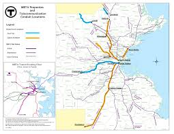 Mbta Map Boston by Massdot U0026 Mbta Telecom And Energy Services Massachusetts Realty