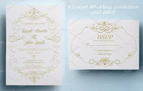 wedding invitation and rsvp invitation templates