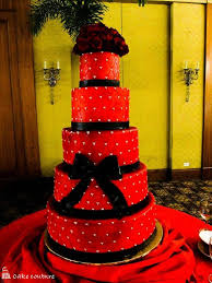 wedding cakes pictures red and black wedding cakes