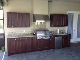 marine grade polymer outdoor cabinets charming elite outdoor kitchens design weatherproof at kitchen