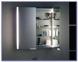 Bathroom Mirror Cabinets With Led Lights by Bathroom Mirror Cabinets With Led Lights Cabinet Home