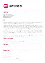 Graphic Designers Resume Samples by 27 Examples Of Impressive Resume Cv Designs Dzineblog Com