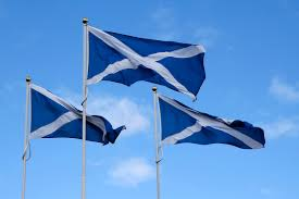 is the dearth of scottish flags a political statement london