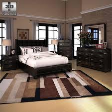 ashley furniture platform bedroom set 3d model ashley diana platform bedroom set cgtrader