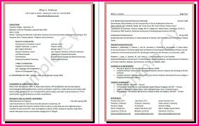 Academic Resume For College Applications Cv Writing For Graduate