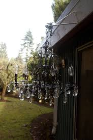 Outdoor Chandelier Diy Diy Outdoor Chandelier Host To Guest