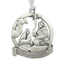 to the world ornament aitkens pewter