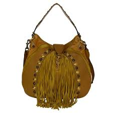 Hobo Kitchen Cabinets Gucci Mustard Leather And Suede Fringe Babouska Hobo Bag Ghw For