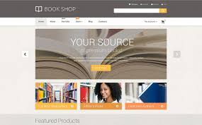 book store woocommerce template