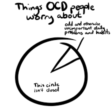 things ocd people worry about meme guy