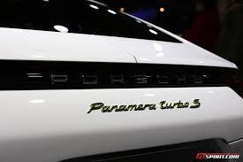 porsche panamera hybrid geneva 2017 porsche panamera turbo s e hybrid gtspirit
