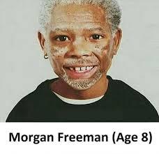 Morgan Freeman Memes - rare photo of young morgan freeman album on imgur