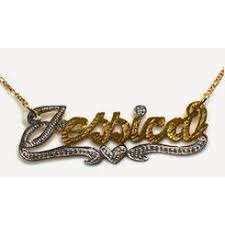 personalized gold necklace name personalized name necklace