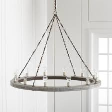 Iron And Wood Chandelier Geoffrey 48 Wood Chandelier In Pendant Lighting Reviews