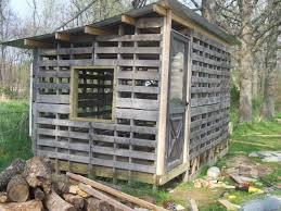 Rabbit Hutch From Pallets Garden Landscape With Rabbit Hutch With Bedding Inside Chicken