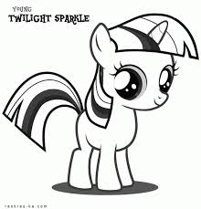 coloring book pony twilight sparkle coloring