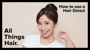 hairstyle ph hair donut bun tutorial by sunsilk all things hair ph youtube