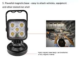 Magnetic Base Work Light Rupse 15w Led Search Light Spot Work Light With Magnetic Base For