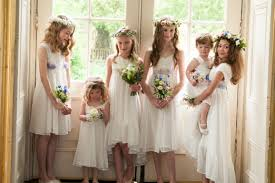 flower girl wedding differences betweeen bridesmaid and flower girl everafterguide