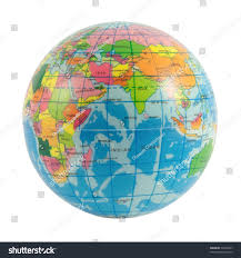 Africa And Asia Map by Globe World Europe Africa Asia On Stock Photo 79440337 Shutterstock