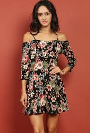 floral dresses the shoulder floral dress shop floral dresses at papaya clothing