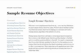 resumes objectives exles sle resume objective sales resume objective exles 92 www