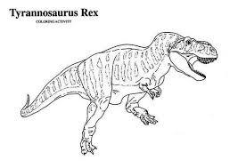 rex tyrannosaurus coloring color luna