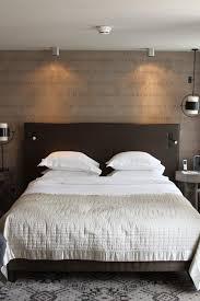 deco chambre tete de lit chambre adulte marron beige