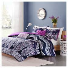 Lavender Comforter Sets Queen Blakely Comforter Set Purple Target
