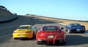porsche 911 vs corvette f12 vs corvette c7 vs porsche 911 c4s ridelust com