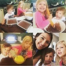 cuisiner avec ses enfants la femme de michael weatherly bojana en cuisine avec leurs