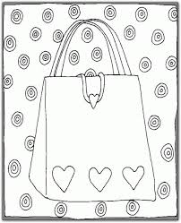 coloring lovely purse coloring fashion purses gifts