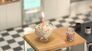 tiny rainbow birthday cake tiny kitchen tastemade