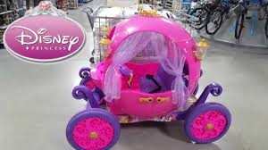 frozen power wheels sleigh 24v disney princess carriage ride on powerwheels dynacraft youtube