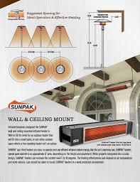 Free Standing Patio Heaters by Premium Outdoor Patio Heaters 2017 Modern Blaze